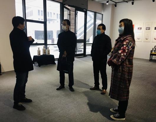 北京市文化创意产业促进中心、顺义区委宣传部文促中心一行赴国家对外文化贸易基地(北京)调研