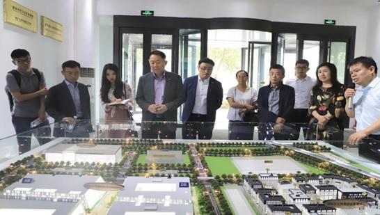 韩国CJ集团中国区领导 到访国家对外文化贸易基地(北京)