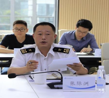 天竺海关张际洲副关长到 国家对外文化贸易基地(北京)调研